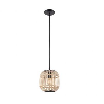 Κρεμαστό ξύλινο καλάθι Ø21cm