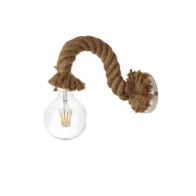 Μεταλλική απλίκα από σχοινί 25cm