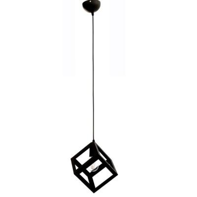 Μονόφωτος κρεμαστός κύβος 16x16cm