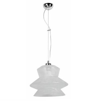 Γυάλινο κρεμαστό φωτιστικό Ø30x25cm