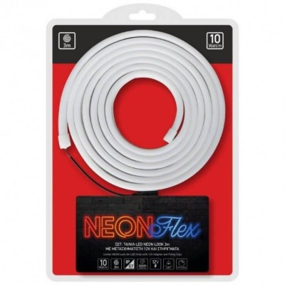 Λεντοταινία Neon Flex Dimmable στεγανή IP67 3m