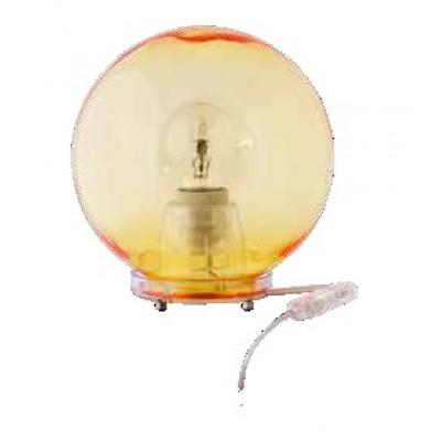 Πορτατίφ κομοδίνου χρωματιστή πολυκαρβονική μπάλα Φ40cm