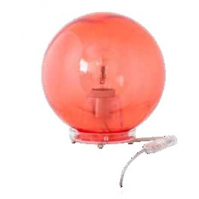 Πορτατίφ κομοδίνου χρωματιστή πολυκαρβονική μπάλα Φ20cm