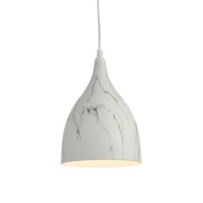 Μεταλλική λευκή καμπάνα Ø17cm ACA