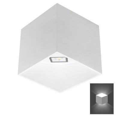 Απλίκα ρόμβος 18x18cm Up-Down LED 90°