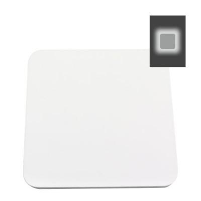 Απλίκα LED περιμετρικού φωτισμού τετράγωνη φλατ 14x14cm