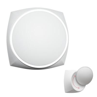 Λευκή απλίκα LED 120° με κινητή κεφαλή