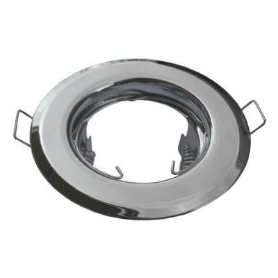 Χωνευτή στρογγυλή βάση για spot φ83mm σταθερή