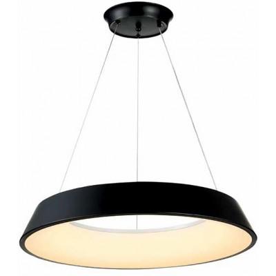 Κρεμαστό φωτιστικό LED κύκλος Ø60cm πάχους 9cm