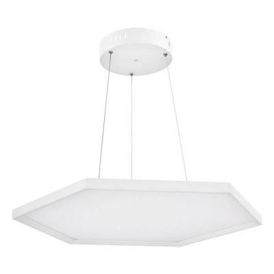 Λευκό φωτιστικό εξάγωνο Ø42cm LED panel