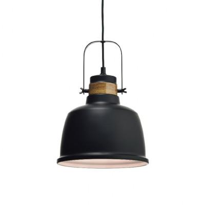 Vintage μαύρη μεταλλική καμπάνα Ø22cm ACA