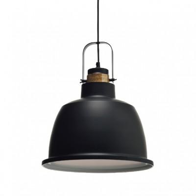 Vintage μαύρη μεταλλική καμπάνα Ø35cm ACA