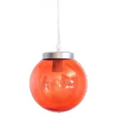 Στεγανή κρεμαστή μπάλα Φ20cm χρωματιστό ακρυλικό με PVC καλώδιο