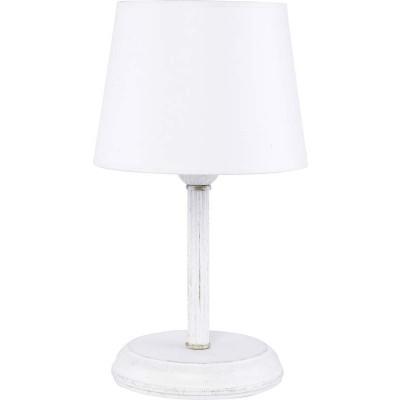 Λευκή επιτραπέζια λάμπα 33cm