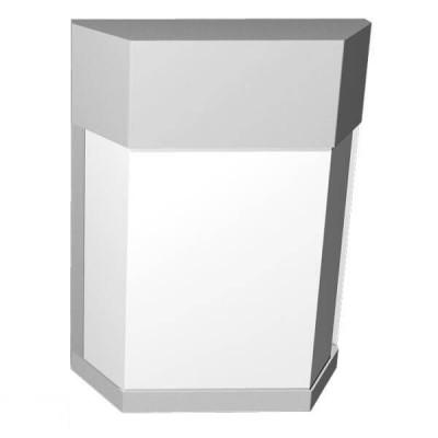 Πολυγωνική απλίκα με σκιάδιο 20x26cm