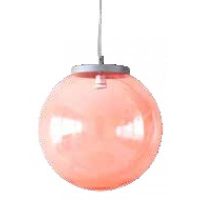 Μοντέρνο στεγανό κρεμαστό φωτιστικό χρωματιστή μπάλα Φ40cm
