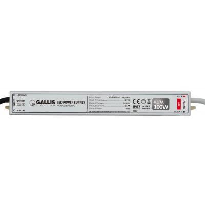 Τροφοδοτικό για ταινία LED 24V IP67 100W