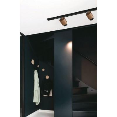 Σποτ οροφής-τοίχου Ø8cm με χρυσοχάλκινο χρώμα