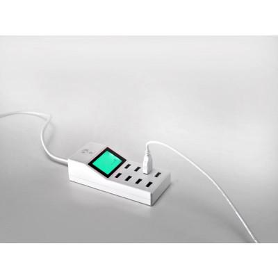 Φορτιστής USB 8 θέσεων