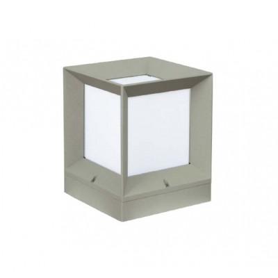 Φωτιστικό δαπέδου εξωτερικού χώρου κύβος 22x22cm