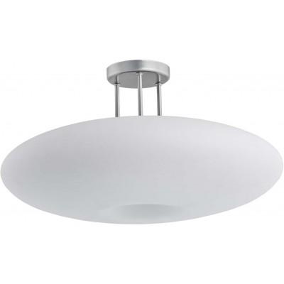Γυάλινο οβάλ οροφής LED