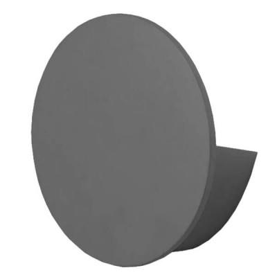 LED Φωτιστικό Τοίχου Απλίκα Αρχιτεκτονικού Φωτισμού Round Back Light IP54 60°