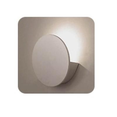 Στεγανό φωτιστικό τοίχου LED 3000K back light 60° κυκλικό