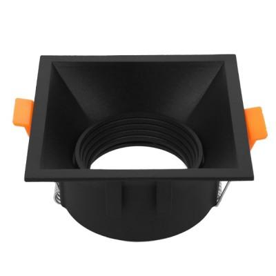 Χωνευτή τετράγωνη βάση αρχιτεκτονικού φωτισμού για spot φ91mm