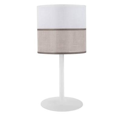 Επιτραπέζιο φωτιστικό με δίχρωμο αμπαζούρ Ø20cm