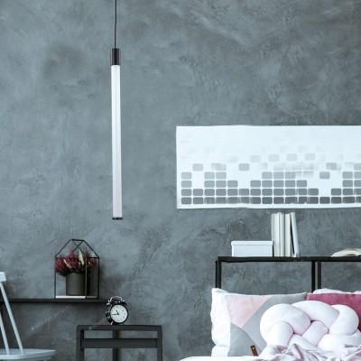Κρεμαστό φωτιστικό LED σωλήνας PVC 53cm