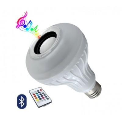 Λάμπα LED RGB Bluetooth με ηχείο