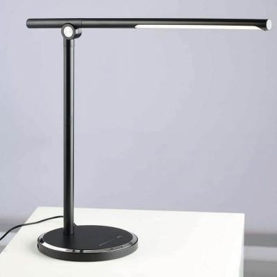 Φωτιστικό γραφείου αφής dimmable ύψους 35cm με θύρα USB στη βάση