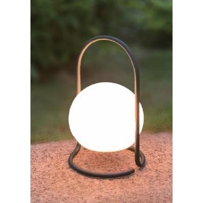 Επαναφορτιζόμενο πορτατίφ LED DIMMABLE με ακρυλική μπάλα Ø17cm