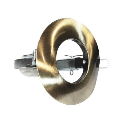 Χωνευτό στρογγυλό σποτ ατσάλινο R50 E14 Ø104mm με τρύπα κοπής Ø70mm