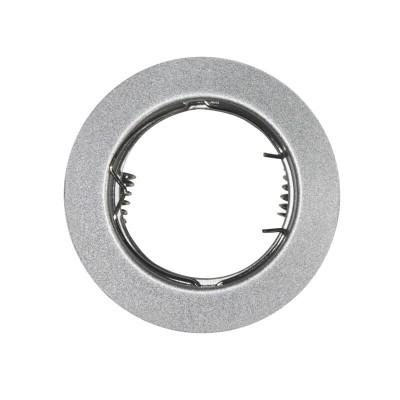 Χωνευτό στρογγυλό σποτ ατσάλινο GU10 Ø75mm με τρύπα κοπής Ø62mm