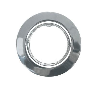 Χωνευτό στρογγυλό σποτ ατσάλινο GU10 Ø81mm με τρύπα κοπής Ø73mm