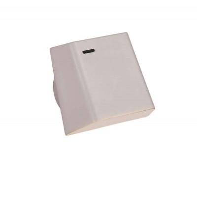 Περιστρεφόμενη λευκή μεταλλική απλίκα LED