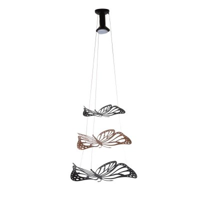 Κρεμαστό μονόφωτο με τρεις πεταλούδες