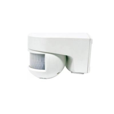 Επίτοιχος ανιχνευτής κίνησης λευκός στεγανός IP55