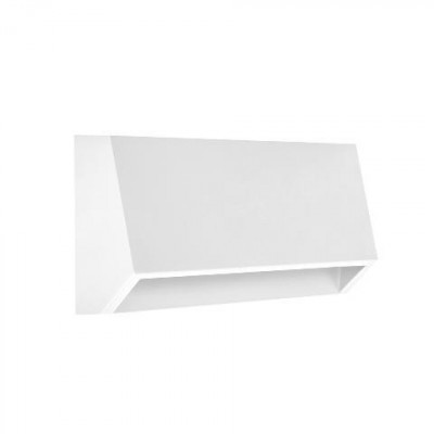 Μεταλλικό φωτιστικό τοίχου κυρτό 16x3cm LED 120º