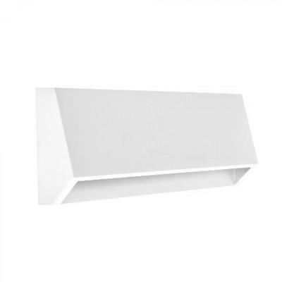 Μεταλλικό φωτιστικό τοίχου κυρτό 22x4cm LED 120º