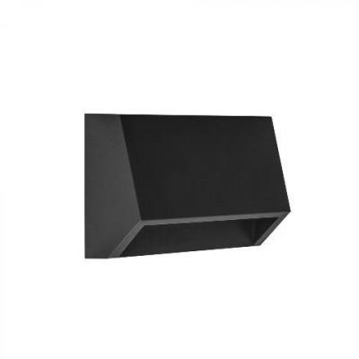 Μεταλλικό φωτιστικό τοίχου κυρτό 13x3cm LED 120º