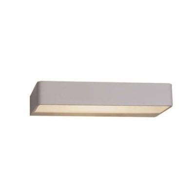 Γκρι μεταλλική απλίκα LED