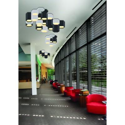 Λευκός κύλινδρος οροφής LED