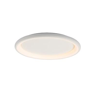Μεταλλική πλαφονιέρα οροφής LED 3000K Ø61cm