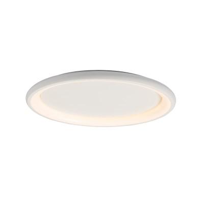 Μεταλλική πλαφονιέρα οροφής LED 3000K Ø81cm