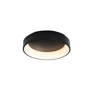 Μεταλλική πλαφονιέρα οροφής LED 3000K Ø45cm