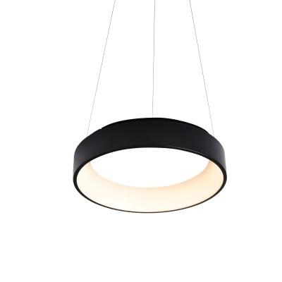Κρεμαστό φωτιστικό LED 3000K Ø60cm από μέταλλο και pmma