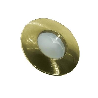 Στεγανό χωνευτό στρογγυλό σποτ αλουμινένιο GU10 Ø84mm με τρύπα κοπής Ø67mm