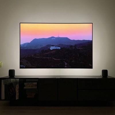 Έτοιμο σετ λεντοταινίας Θερμό-Ψυχρό Φως για backlight σε οθόνη 2m 9.6W